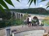 Swinesundbrücke an der Schwedisch-Norwegischen Grenze