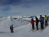 Panorama auf dem Hintertuxer Gletscher