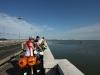 Auf der Brücke nach Venedig