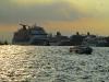 Passagierschiffe im Hafen