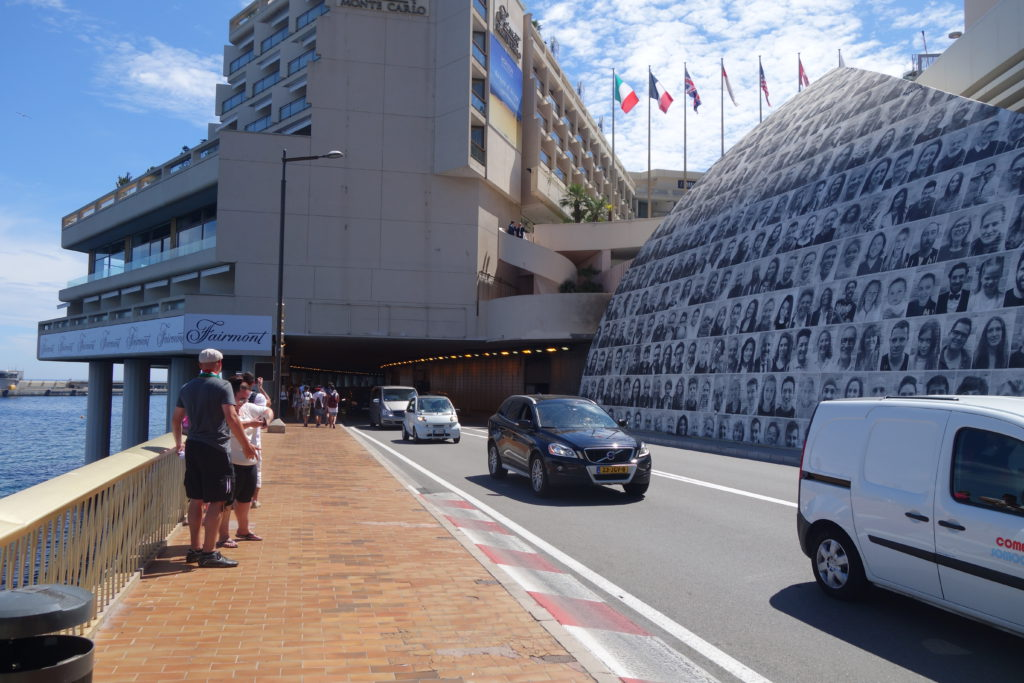DER Formel 1-Tunnel in Monte Carlo