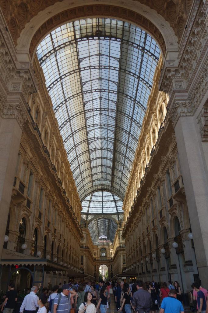 Galleria Vittorio Emanuele II - die überdachte Einkaufspassage