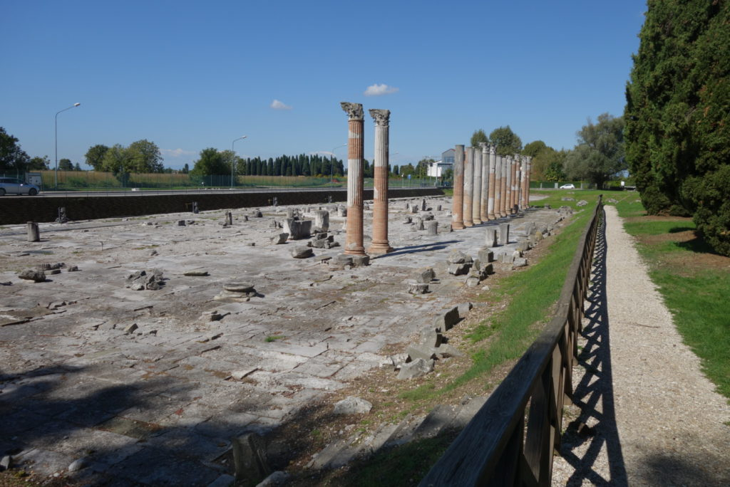Unser Weg führte auch an einer alten Römerstraße vorbei